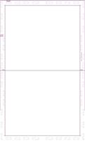 """Picture of V-Fold 14"""" EDDM Form - Blank"""
