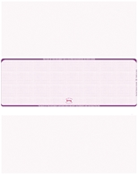 Picture of Purple – Linen Blank Middle Check