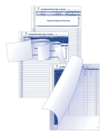 Picture of 3-Part Patient Sign-In System Refills