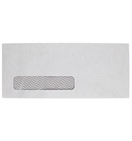 Picture of No# 10 Single Window Envelope 9 1/2 x 4 1/8