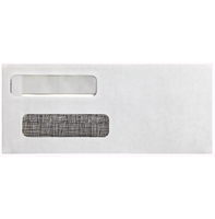 Picture of Double Window Envelope 8 5/8 x 3 5/8 (Self Seal)