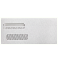 Picture of Double Window Envelopes/ Forms 9 1/8 x 4 1/8 (Self Seal)