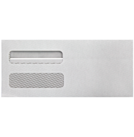Picture of No 9 Double Window Envelope 8 7/8 x 3 7/8 - (Self Seal)