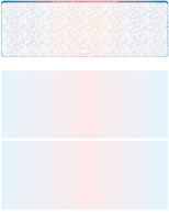 Picture of Blue-Red-Blue – Prismatic Blank Top Check